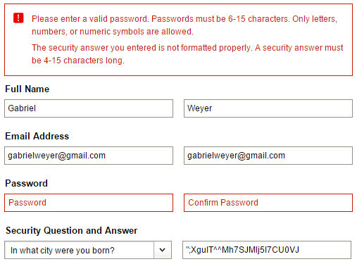 Barnes & noble: password policy